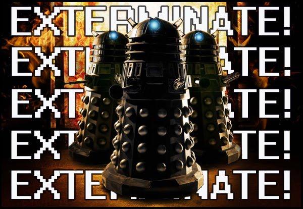 Exterminate Dalek German Dalek Exterminate Gif Top