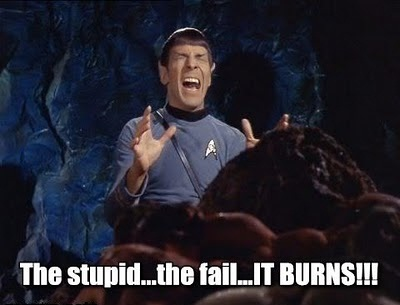 Every time a Keynesian parrots the Broken Window Fallacy, Spock cries.