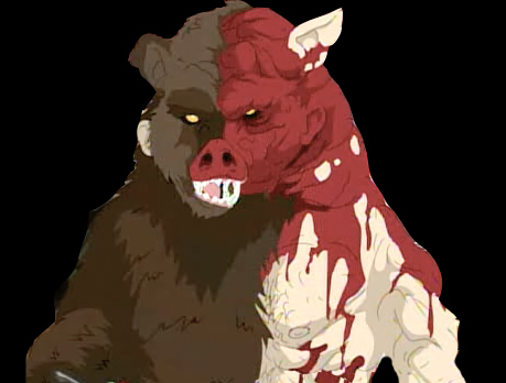 It's Manbearpig!  I'm super serial!