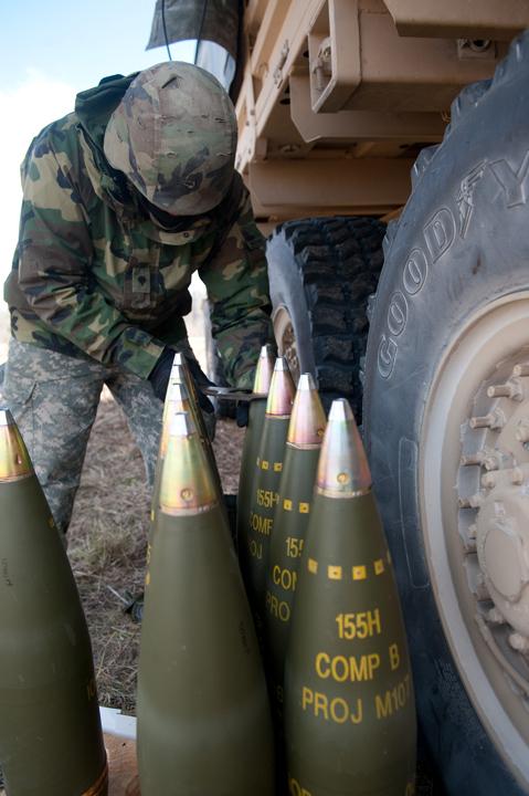 155 shells