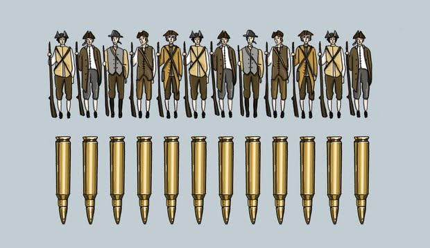 minutemen modern rounds sunstein crazy second amendment story