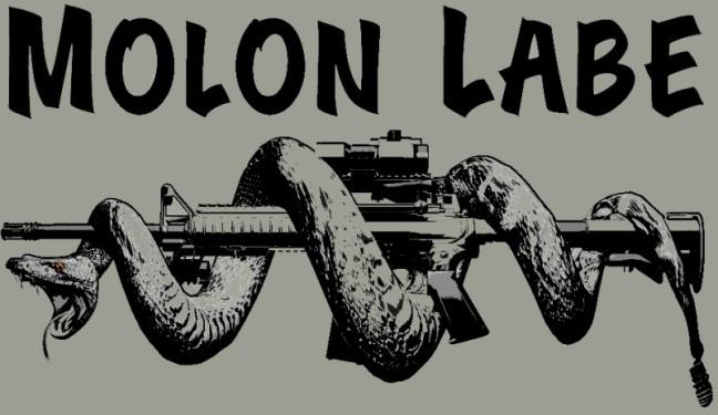 molon labe snake