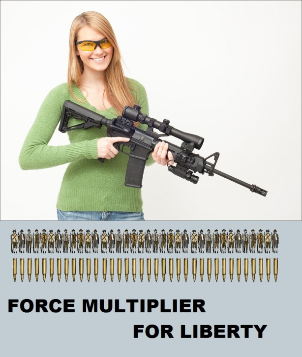 oleg volk rifle girl force multiplier for liberty