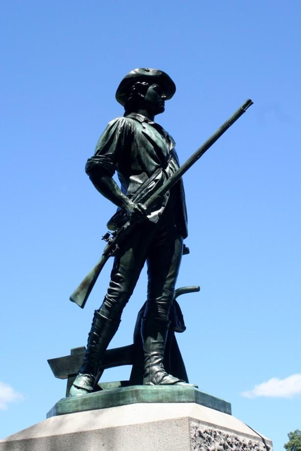 minuteman statue concord