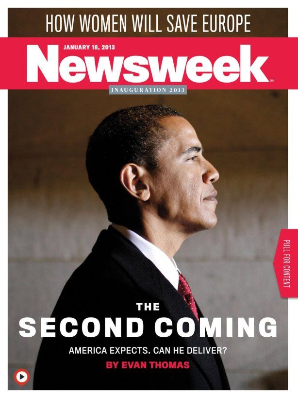 obamas second coming