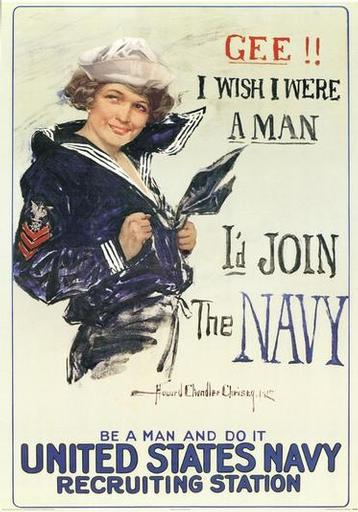 wish i were a man us navy
