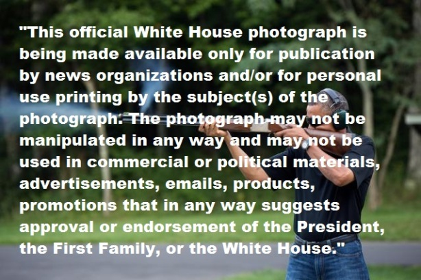 obama shotgun picture with rules 2
