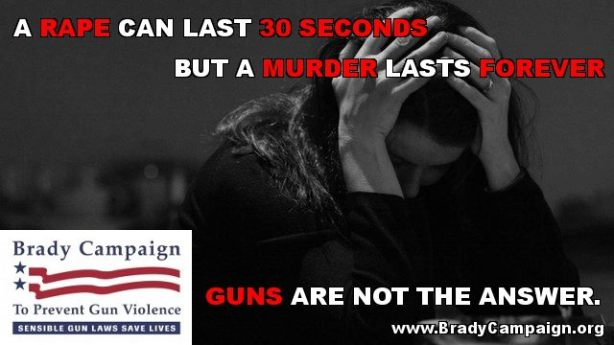 brady campaign rape lasts 30 seconds