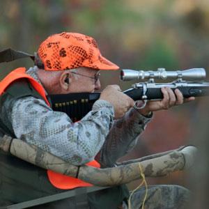 deer rifle hunter