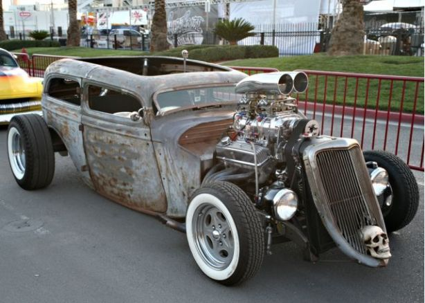 32 ford rat rod