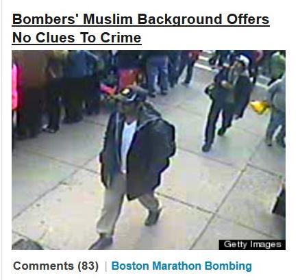 Huffpo boston bomber muslim no clues 2