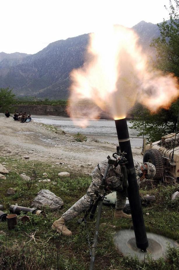 Enduring Freedom mortars