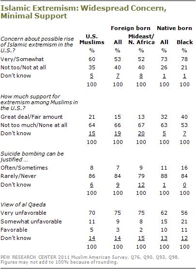 pew research muslim poll 2010