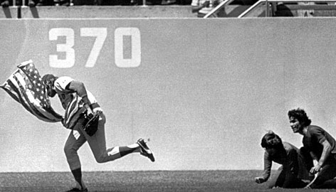 Rick Monday American Flag