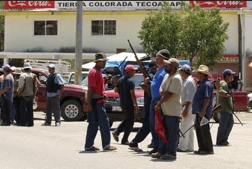 tierra colorada community police mexico