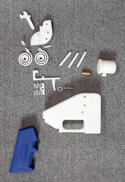 defense distributed liberator parts