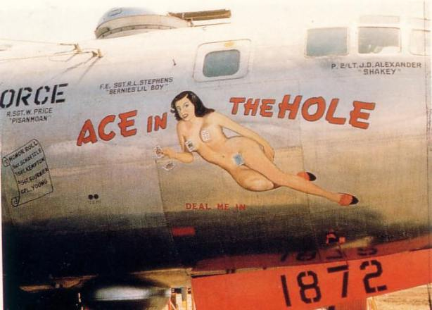 nose art ace in the hole