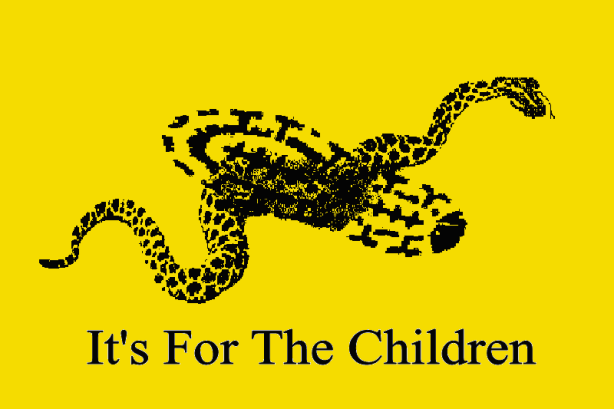 gadsden flag for the children