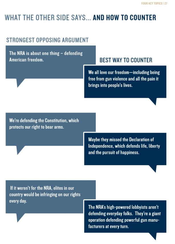 gun violence messaging propaganda booklet pg31