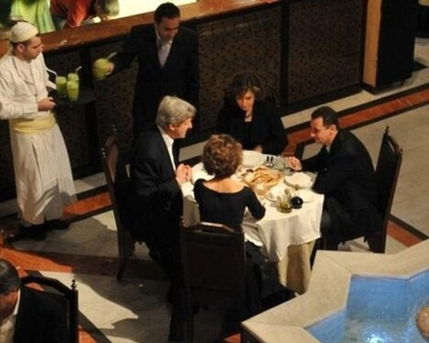 kerry and assad 2009