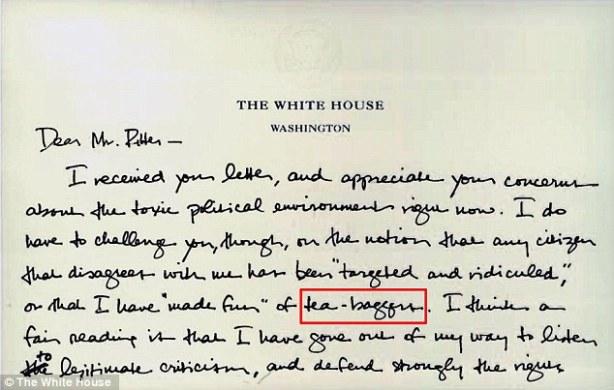 obama teabagger letter 1