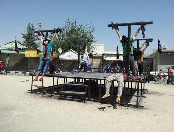 isis crucifixion 20140629_crucify