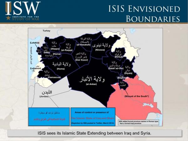ISIS envisioned boundaries 140611