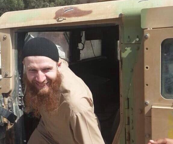isis iraq syria us humvees shishani