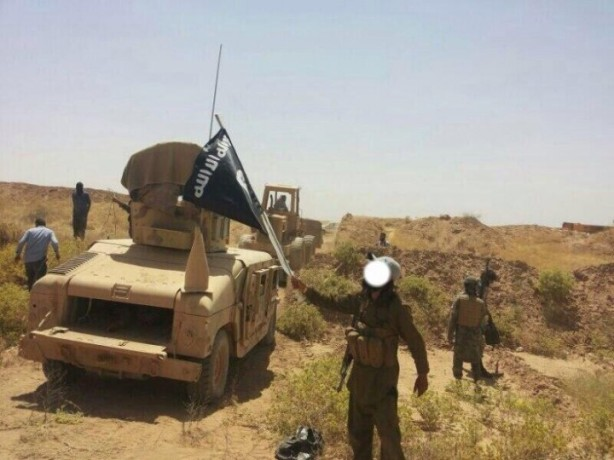 isis iraq syria us humvees