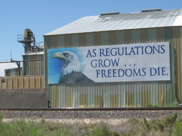 regulations grow freedom dies