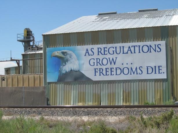 regulations grow freedom dies