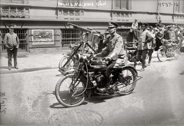NYPD-traffic-motorcycle-policeman-Indian-cycle.-May-18-1918