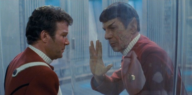 kirk spock star trek 2 death