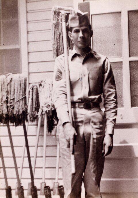 leonard nimoy army ssgt e5 1953 to 1955