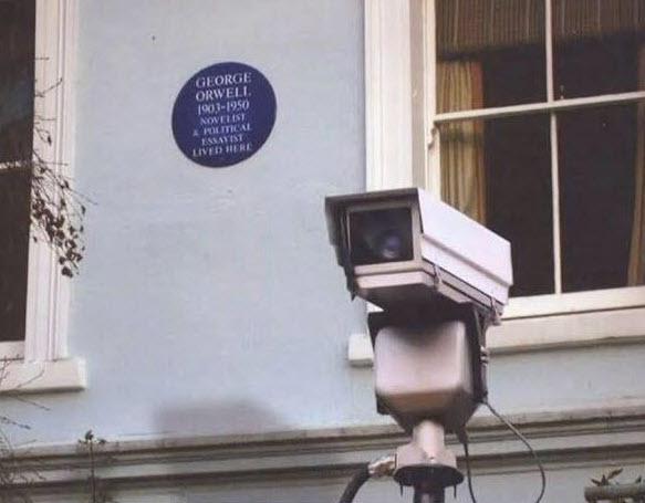 orwell irony