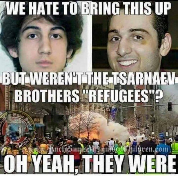refugees tsarnaev boston bombers