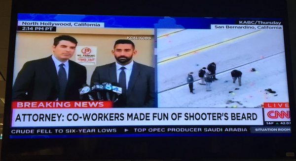 ca san bernadino shooting made fun of beard