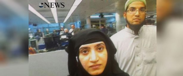 ca san bernadino terrorists at the airport