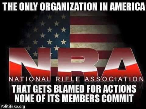 nra blamed for actions none of its members commit